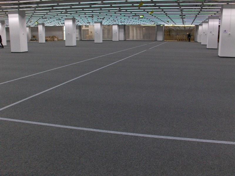 Teppichboden im MediaMarkt